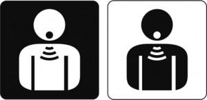 Piktogramm Sprechen